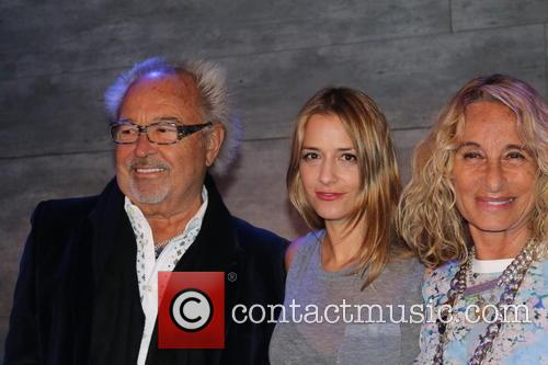 Mick Jones, Charlotte Ronson and Ann Dexter-jones