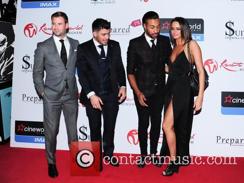 Yasmin, Dean Spragg, Rogan O'connor and Valentino