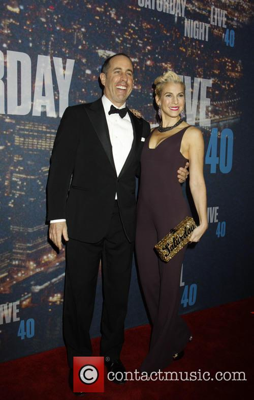 Jerry Seinfeld and Jessica Seinfeld 5