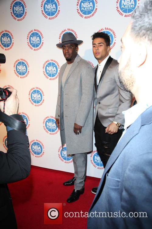 Sean Combs and Quincy Brown 1