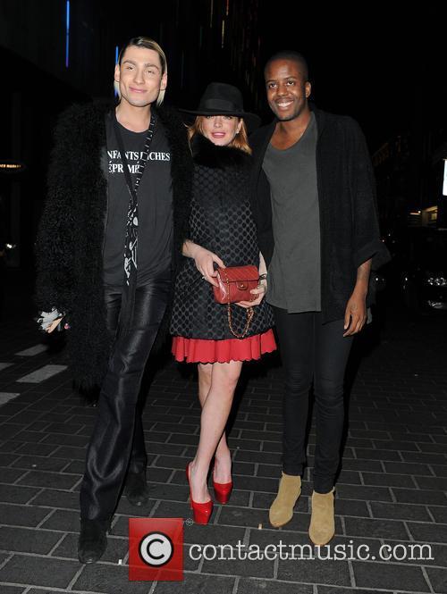 Kyle De'volle, Lindsay Lohan and Vas J Morgan 4