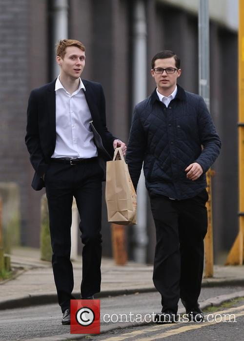 Eastenders, Jamie Borthwick and Harry Reid