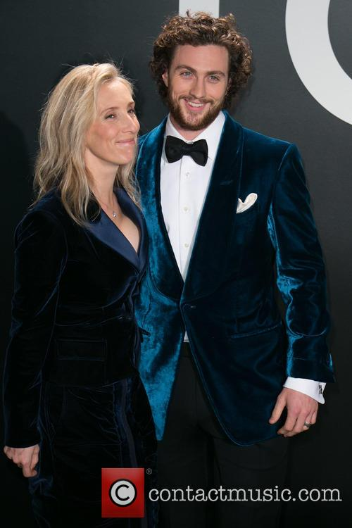 Sam Taylor-johnson and Aaron Taylor-johnson 3