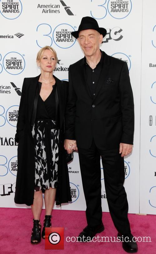 J.k. Simmons and Michelle Schumacher