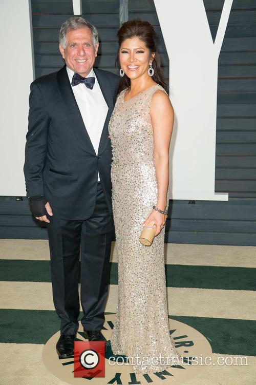 Leslie Moonves and Julie Chen