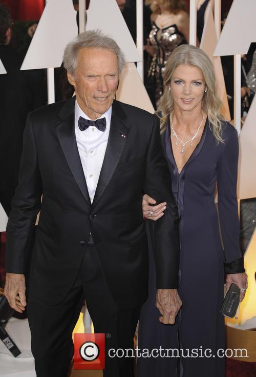 Clint Eastwood and Christina Sandera 2