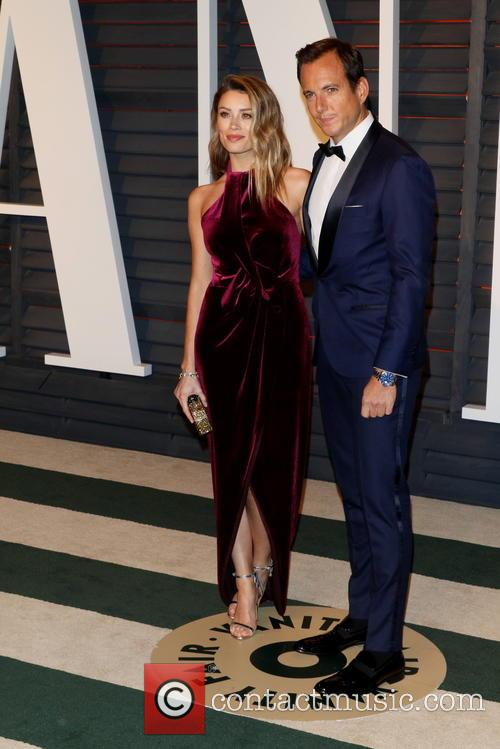 Arielle Vandenberg and Will Arnett 2