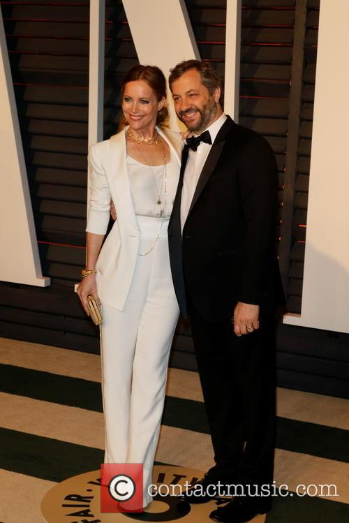 Leslie Mann and Director Judd Apatow