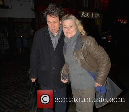 Stephen Rea and Sinead Cusack