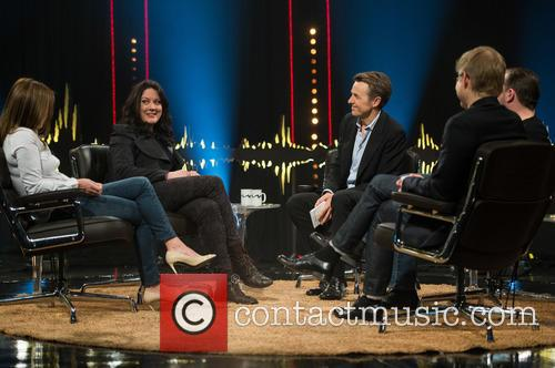 Geri Halliwell, Helen Macdonald, Fredrik Skavlan, Ricky Gervais and Magnus Falkehed