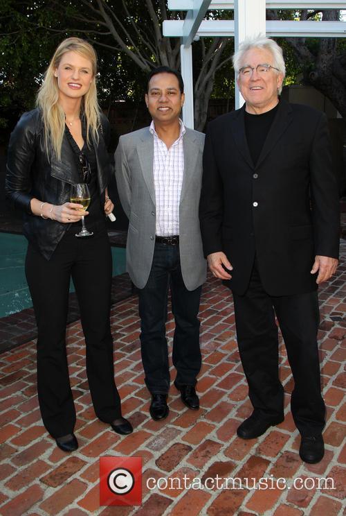 Kayla Peterson, Munawar Hosain and Ron Yerxa