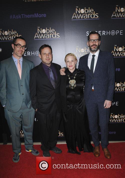 Patricia Arquette, Eric White and Richmond Arquette