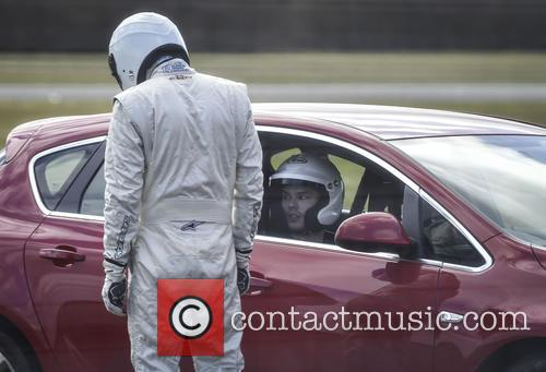 Nicholas Hoult and The Stig