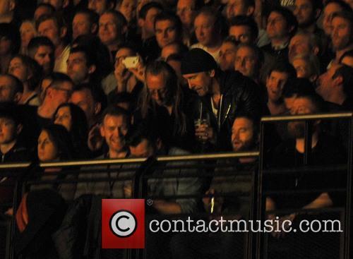 Bono, Edge and Noel Gallagher