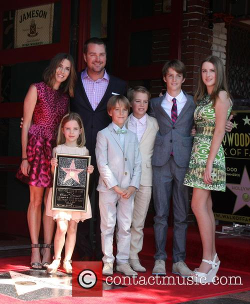 Caroline Fentress O'donnell, Chris O'donnell, Lily Anne O'donnell, Charles Mchugh O'donnell, Finley O'donnell, Maeve Frances O'donnell and Christopher O'donnell Jr 2