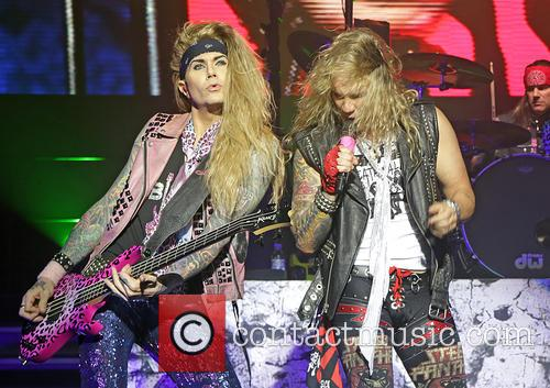 Steel Panther, Michael Starr and Lexxi Foxx 9
