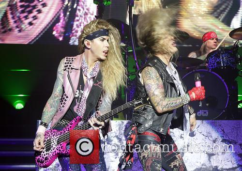 Steel Panther, Michael Starr and Lexxi Foxx 10