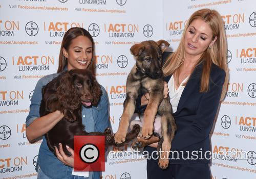 Alesha Dixon and Tess Daly 8