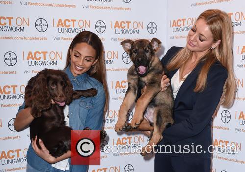 Alesha Dixon and Tess Daly 10