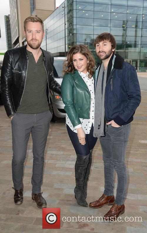 Charles Kelley, Hillary Scott and Dave Haywood 1