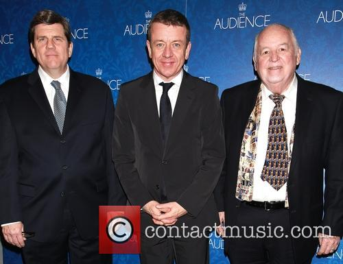 Peter Morgan, Rod Mclachlan and Dakin Matthews