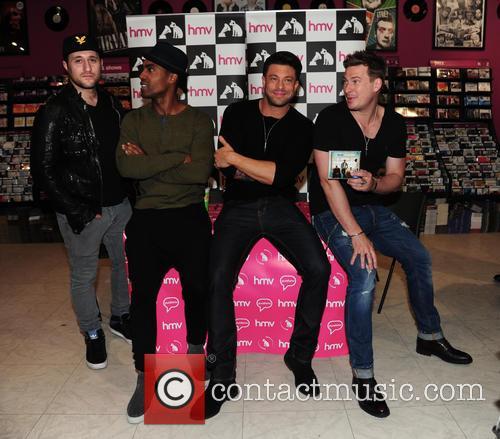 Blue, Antony Costa, Simon Webbe, Duncan James and Lee Ryan 1