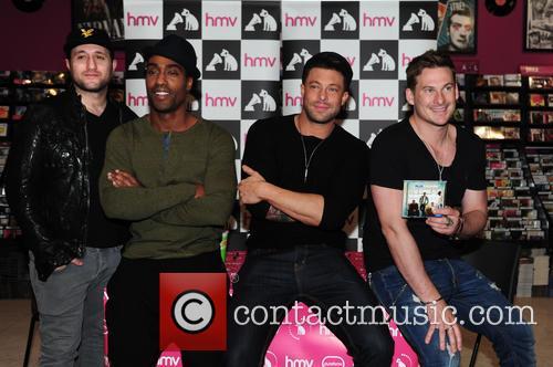 Blue, Antony Costa, Simon Webbe, Duncan James and Lee Ryan 10