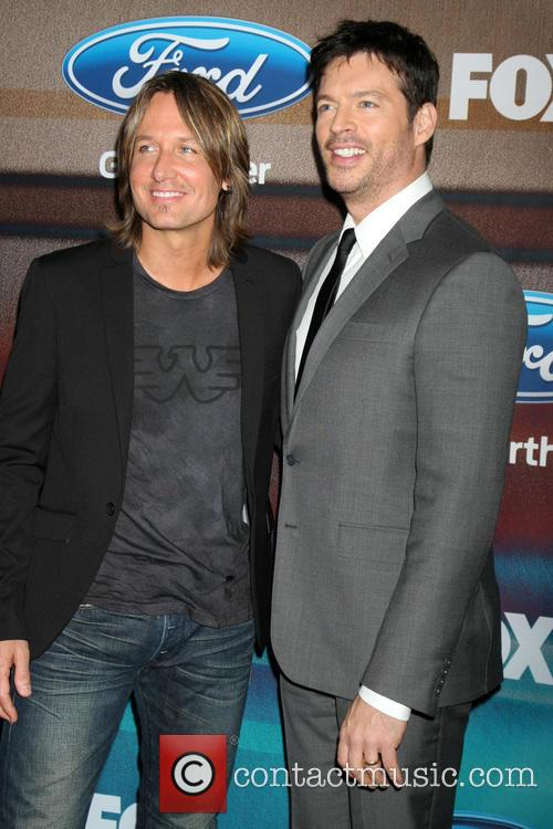 Keith Urban and Harry Connick Jr. 2
