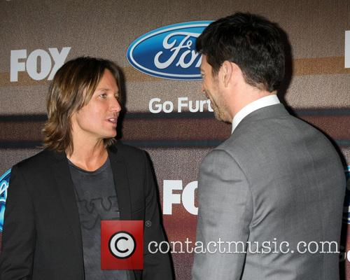 Keith Urban and Harry Connick Jr. 10