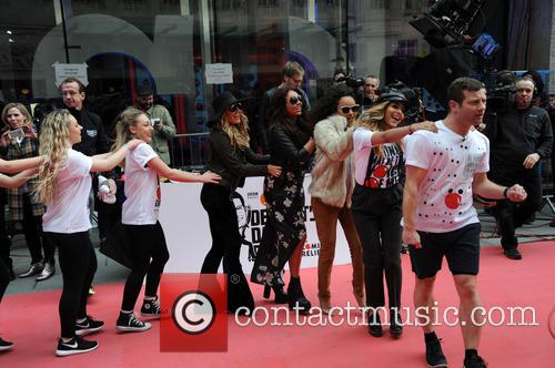 Dermot O'leary, Little Mix, Jade Thirlwall, Perrie Edwards, Leigh-anne Pinnock and Jesy Nelson 2