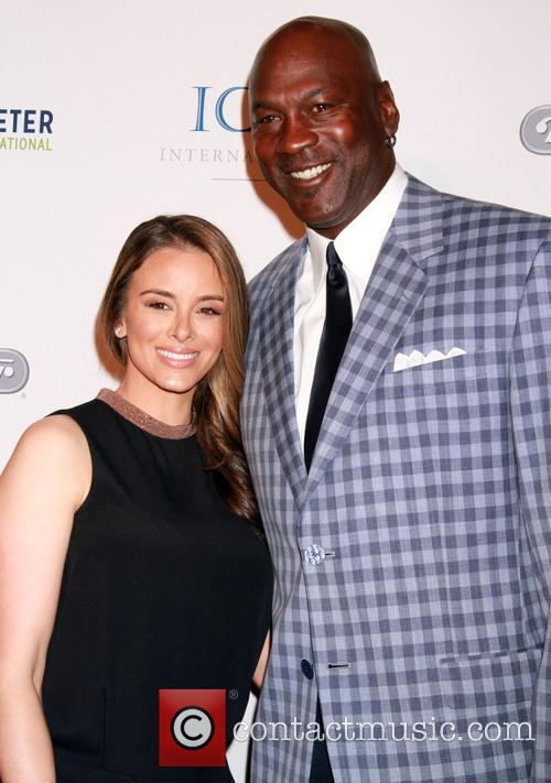 Michael Jordan and Yvette Prieto 2