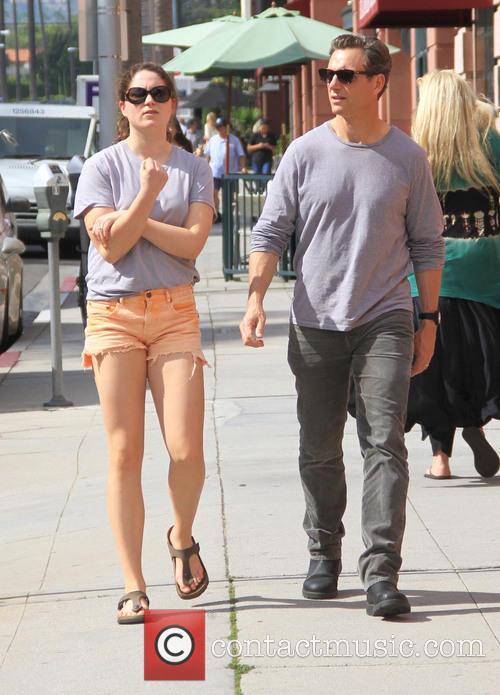 Tony Goldwyn and Tess Goldwyn