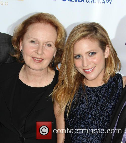 Kate Burton and Brittany Snow