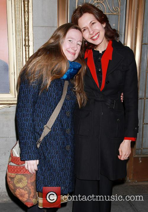 Sarah Ruhl and Jessica Hecht 10