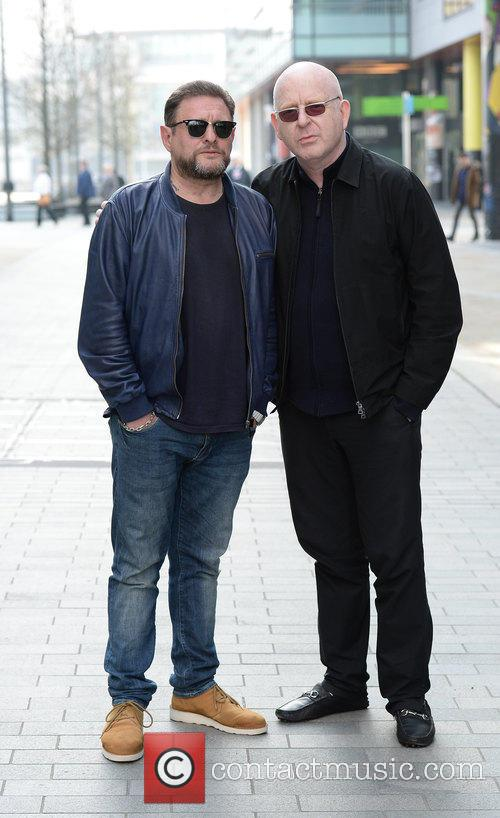 Shaun Ryder and Alan Mcgee