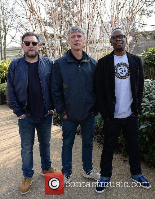 Shaun Ryder, Mark Berry(bez) and Paul Leveridge 11
