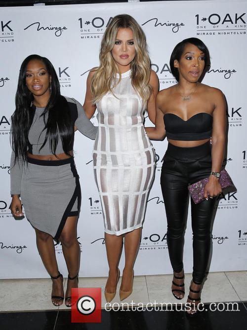 Khadijah Haqq, Khloe Kardashian and Malika Haqq