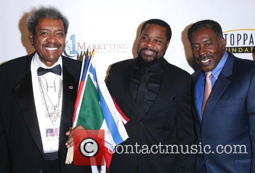 Don King, Malcolm-jamal Warner and Ernie Hudson