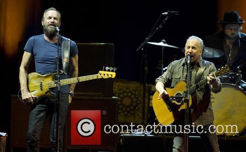 Sting and Paul Simon