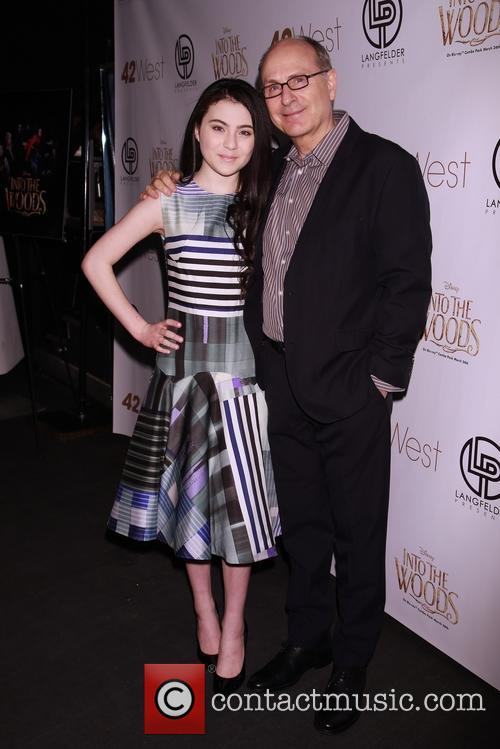 Lilla Crawford and James Lapine 1