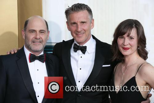 Matthew Weiner, Christopher Stanley and Kim Stanley