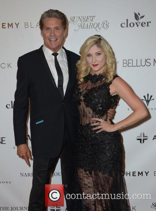 David Hasselhoff and Taylor-ann Hasselhoff 3