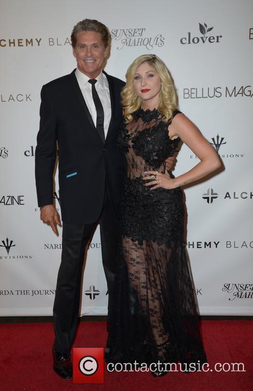 David Hasselhoff and Taylor-ann Hasselhoff 1