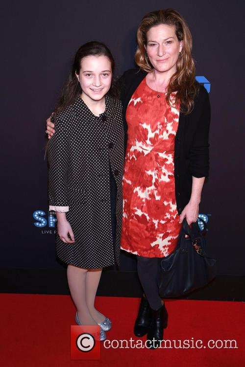 Ana Gasteyer and Daughter