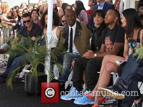 Tyrese Gibson, Michelle Rodriguez, Ludacris and Jordana Brewster 6