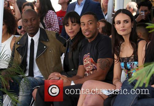 Tyrese Gibson, Michelle Rodriguez, Ludacris and Jordana Brewster 7