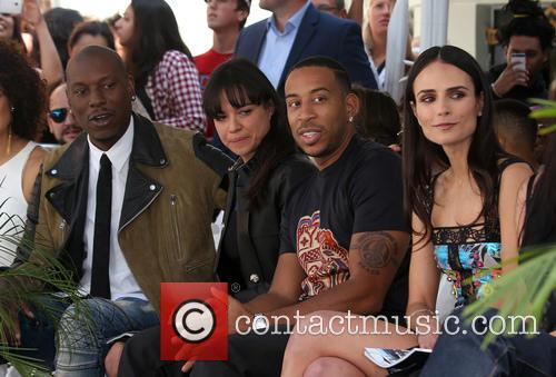 Tyrese Gibson, Michelle Rodriguez, Ludacris and Jordana Brewster 8