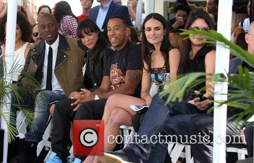 Tyrese Gibson, Michelle Rodriguez, Ludacris and Jordana Brewster 1