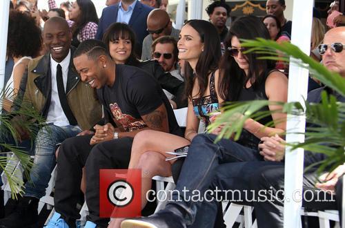 Tyrese Gibson, Michelle Rodriguez, Ludacris and Jordana Brewster 11