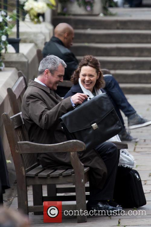 Olivia Colman and Neil Morrissey 9